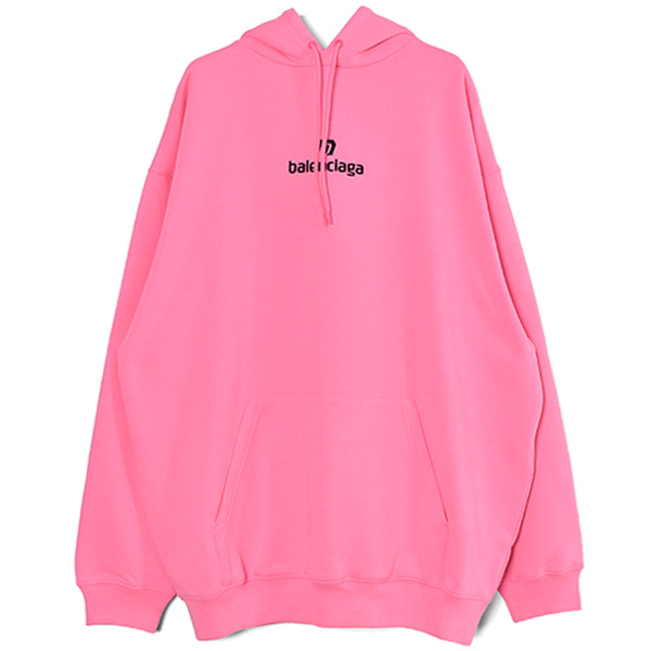 SPONSOR MIDIUM-FIT HOODY/BUBBLE GUM