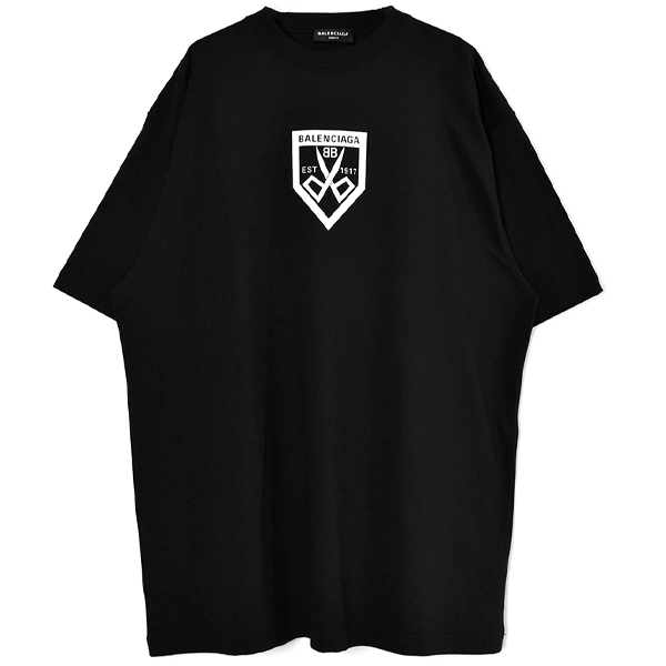 Boxy T-Shirt/BLACK(651795-TKV77)
