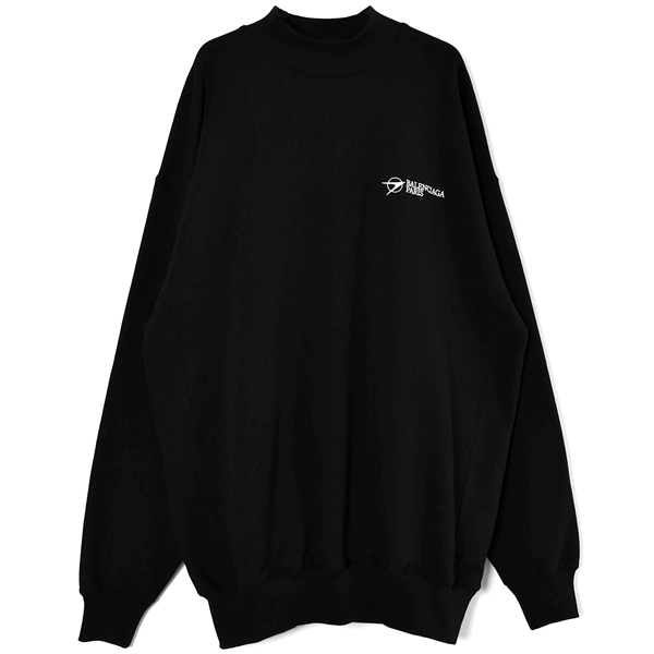 Crewneck Sweater/BLACK(652981-TKV87)