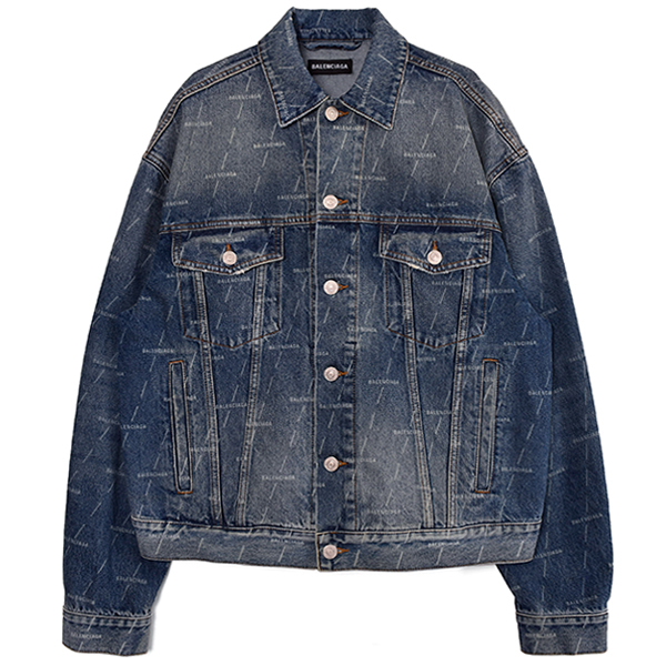 LOGO DENIM JACKET/INDIGO