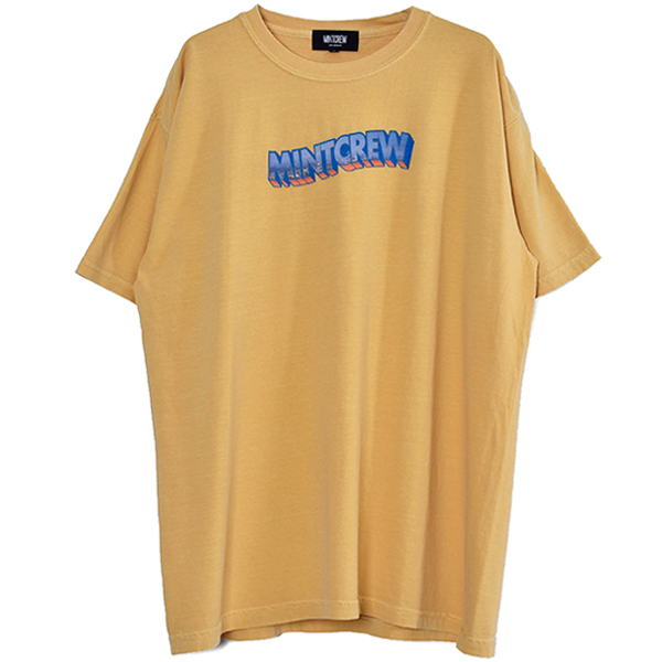 Photo Logo Tee/YELLOW(MC-211-02)
