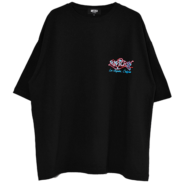Paint Graphic Tee/BLACK(MC-211-04)