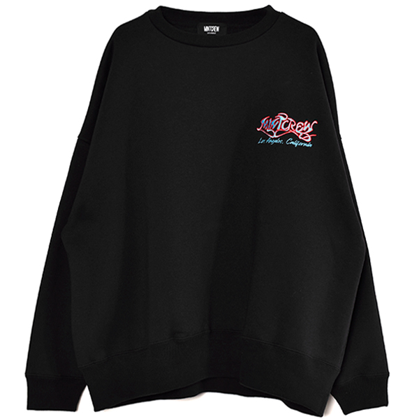 Painting Graphic CrewSweat/BLACK(MC-211-08)