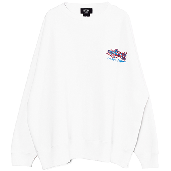 Painting Graphic CrewSweat/WHITE(MC-211-08)