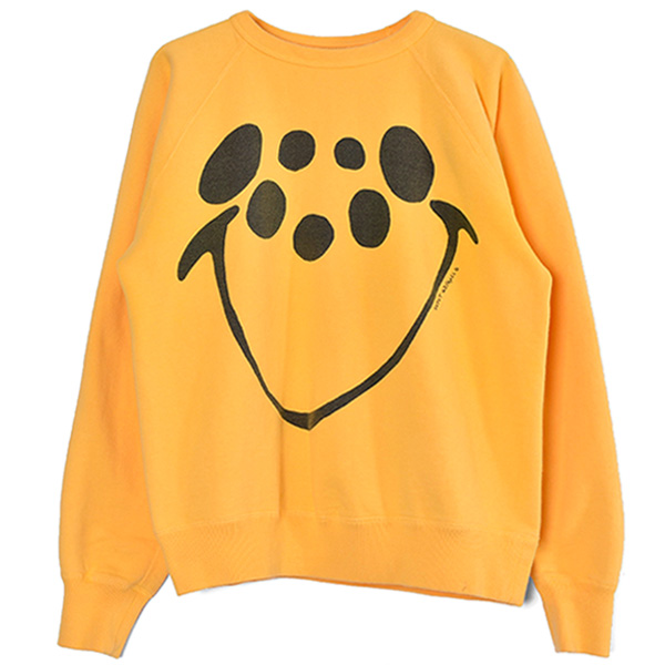 RAGLAN SWEAT SHIRT/YELLOW(SM-S21-0000-023)