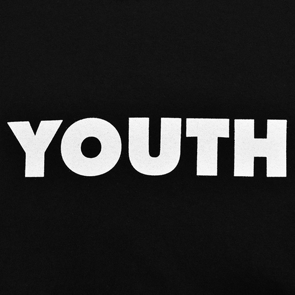 AIN'T YOUTH TEE/BLACK(T-2154)