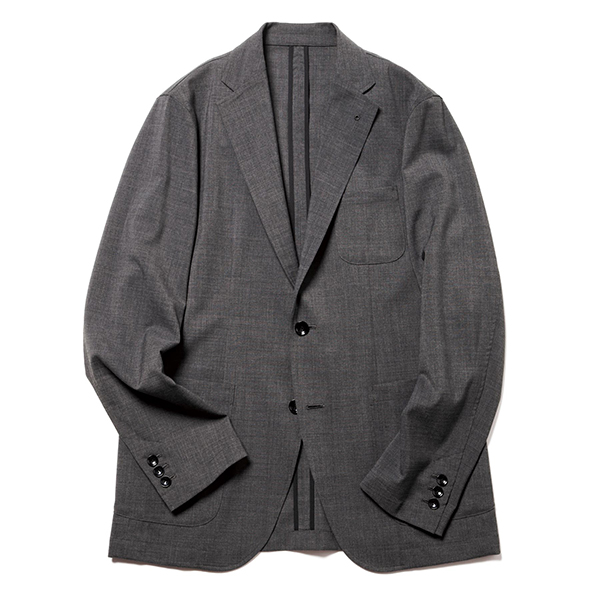 SOLOTEX TROPICAL STRETCH WOOL 2BUTTON JACKET(SOPH-210034)