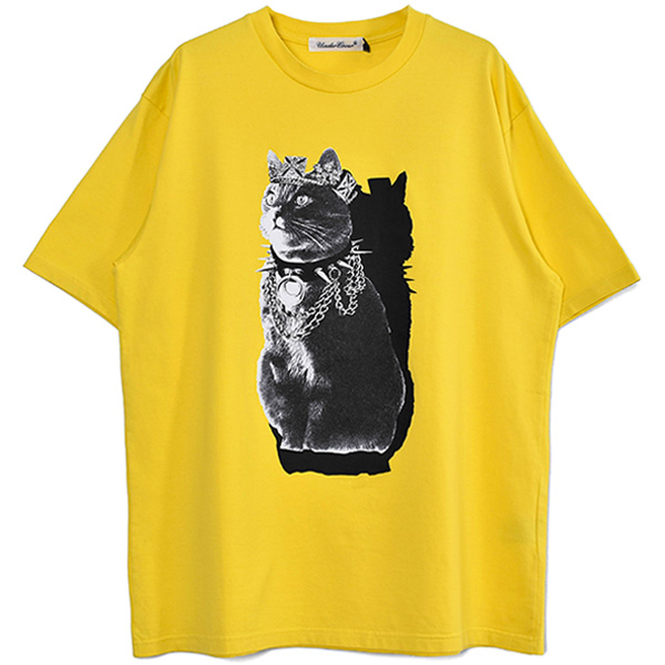 TEE CAT QWEEN/YELLOW(UC1A3802)