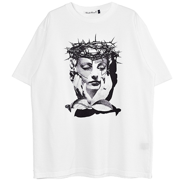 TEE THORNS WOMAN/WHITE(UC1A3815)