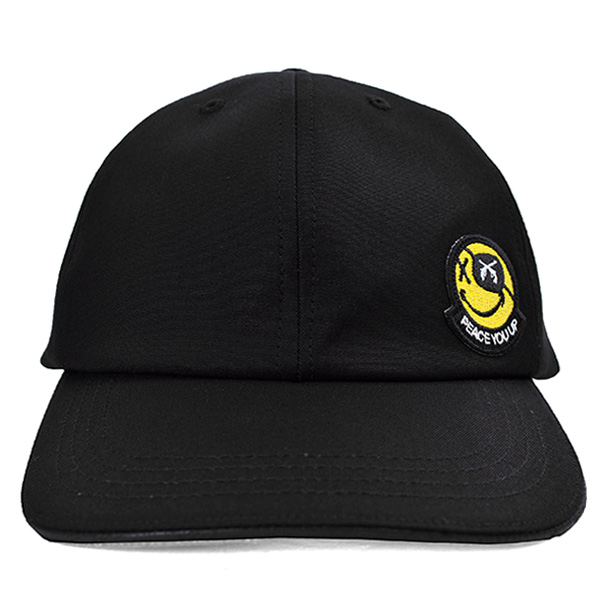 6P SMILE/WPN CAP/BLACK(21SGQ-02)