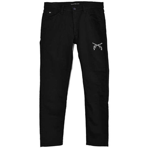 BK DENIM SWAROVSKI/BLACK(21WGP-05C)
