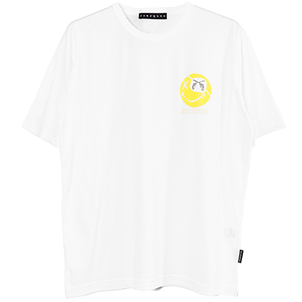 S/S TEE BIG SMILESWAR/WHITE(21WGT-08)