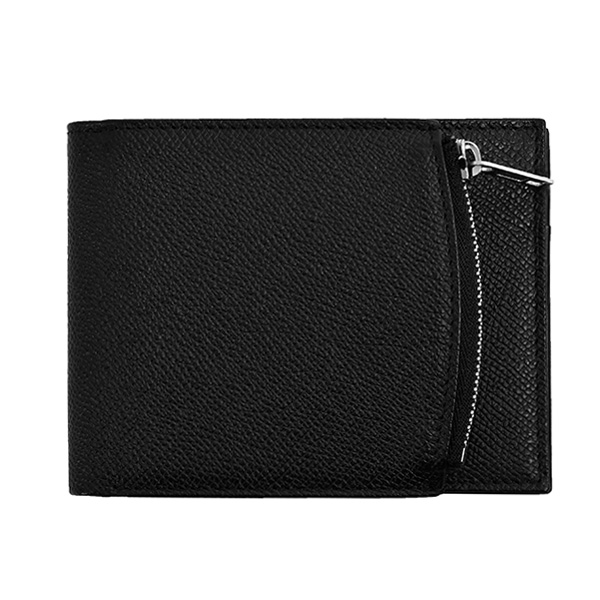 LEATHER WALLET/BLACK(S35UI0436P0399)