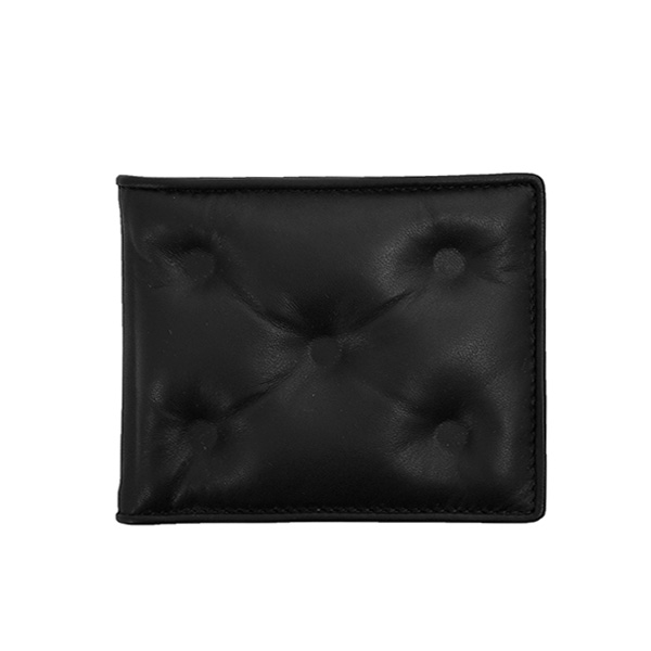GLAM SLAM LEATHER WALLET/BLACK(S55UI0280PR818)