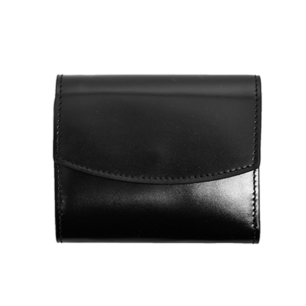 LEATHER WALLET/BLACK(S55UI0296P2714)