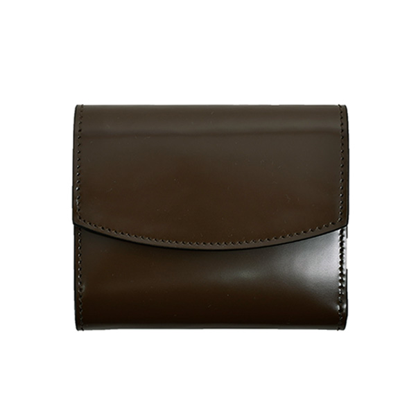 LEATHER WALLET/BROWN(S55UI0296P2714)