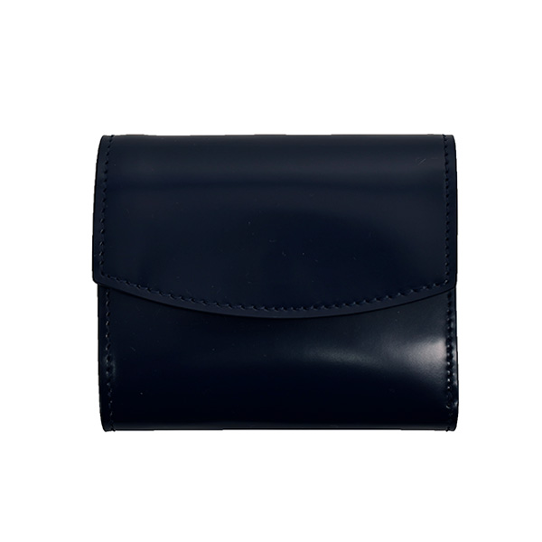 LEATHER WALLET/DARK NAVY(S55UI0296P2714)