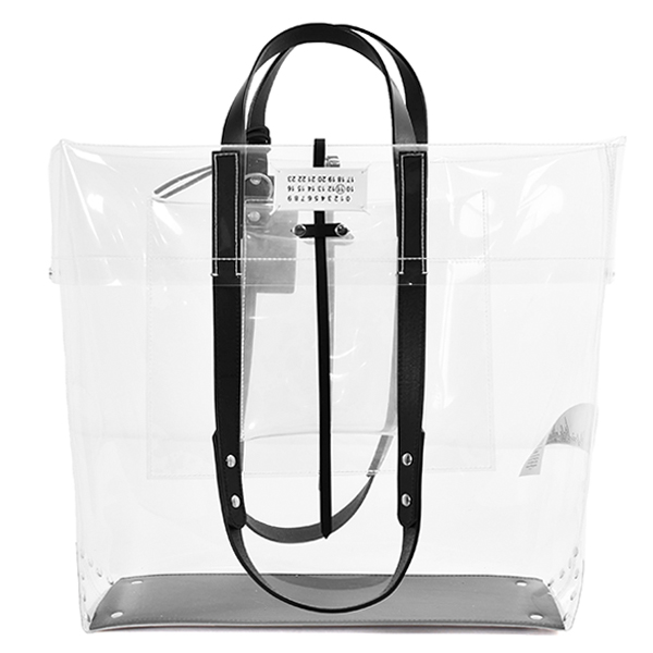 SHOPPING BAG/TRANSPARENT(S35WC0136P4182)