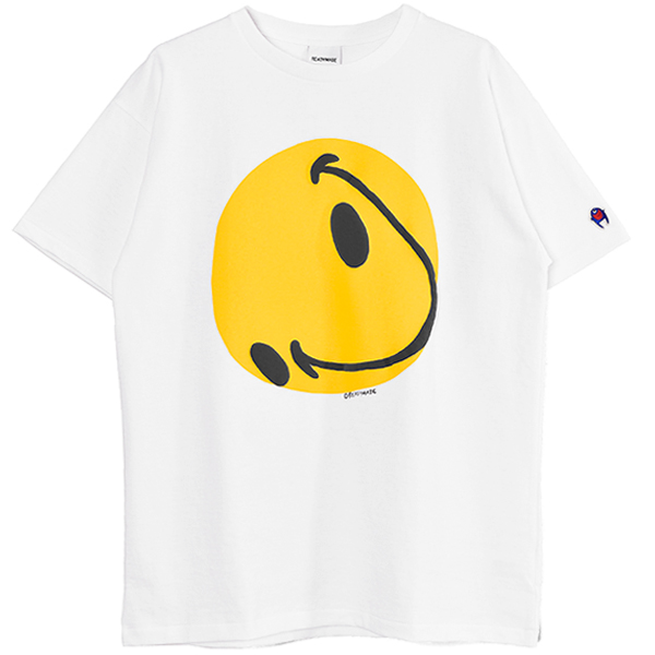 COLLAPSED FACE T-SHIRT/WHITE/(RE-CO-WH-00-00-143)