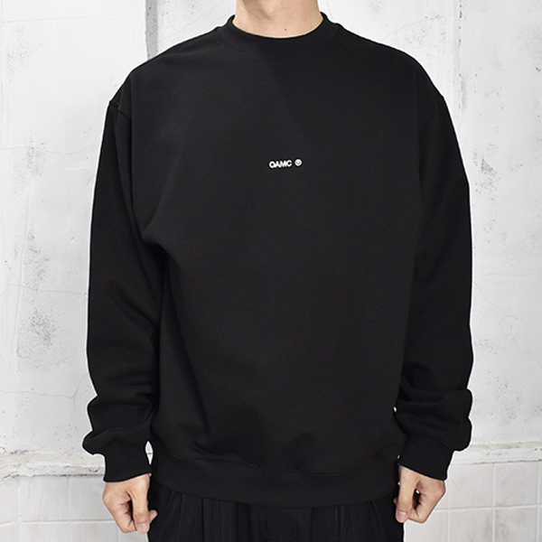 COLLAGE CREWNECK KNITTED/BLACK(OAMS706682)