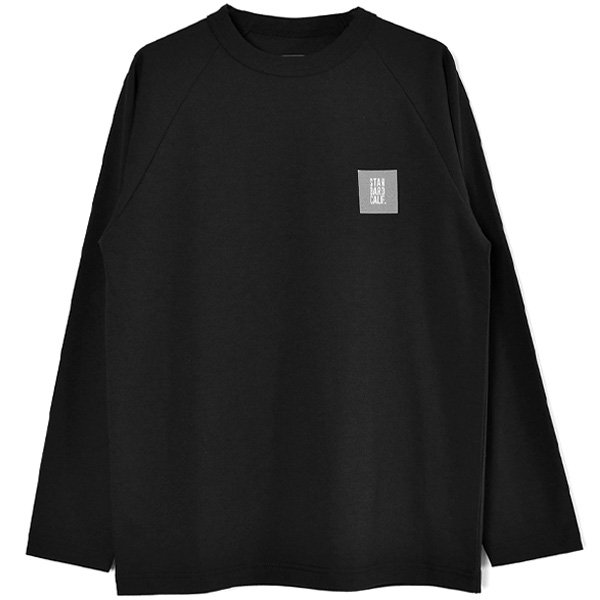 SD Tech Dry Box Logo Long Sleeve T/BLACK