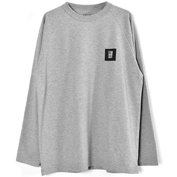 SD Tech Dry Box Logo Long Sleeve T/GRAY