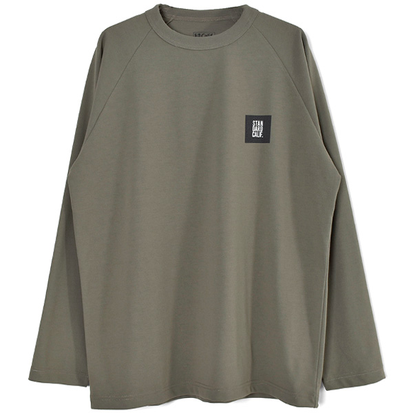 SD Tech Dry Box Logo Long Sleeve T/OLIVE