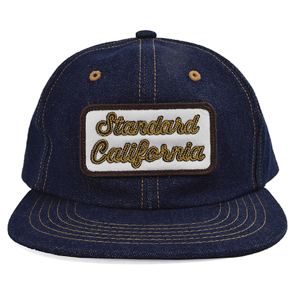SD Logo Patch Denim Cap/NAVY