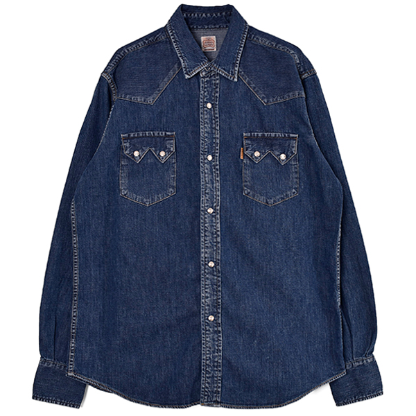 SD Denim Western Shirt/INDIGO