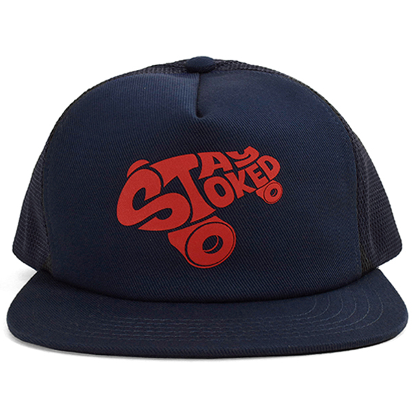 SD Stay Stoked Mesh Cap/BLUE