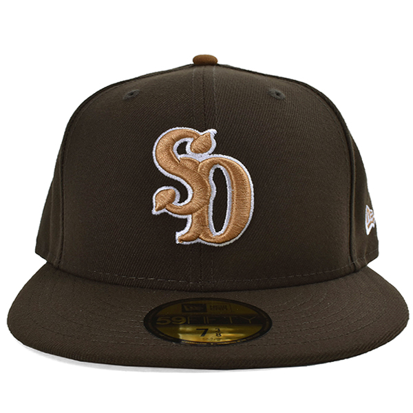 NEW ERA × SD 59Fifty Logo Cap/BROWN