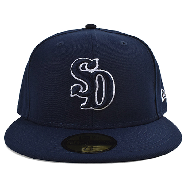 NEW ERA × SD 59Fifty Logo Cap/NAVY