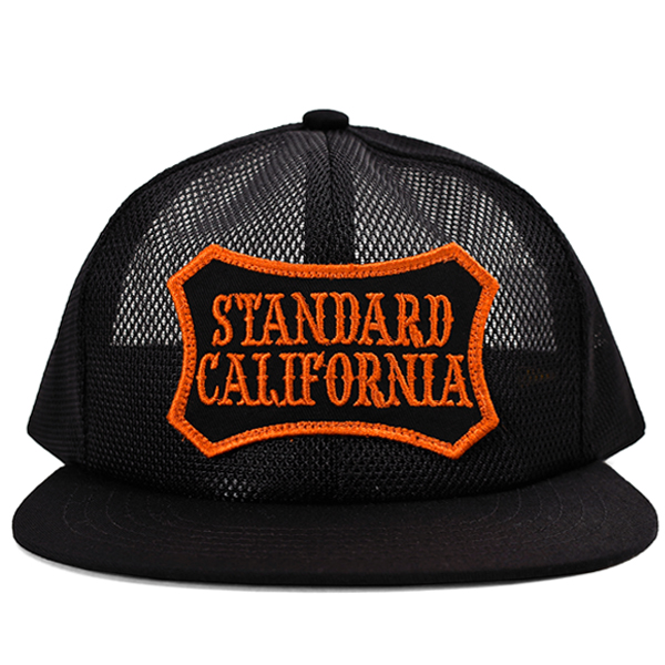 SD SHIELD LOGO PATCH All MESH CAP/BLACK