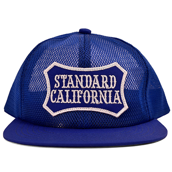 SD SHIELD LOGO PATCH All MESH CAP/BLUE