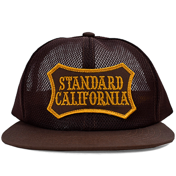 SD SHIELD LOGO PATCH All MESH CAP/BROWN