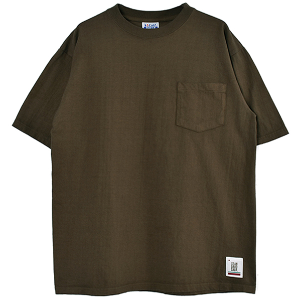 SD Heavyweight Pocket T/BROWN