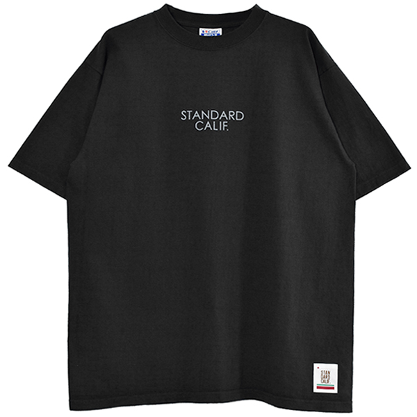 SD HEAVYWEIGHT LOGO T/BLACK