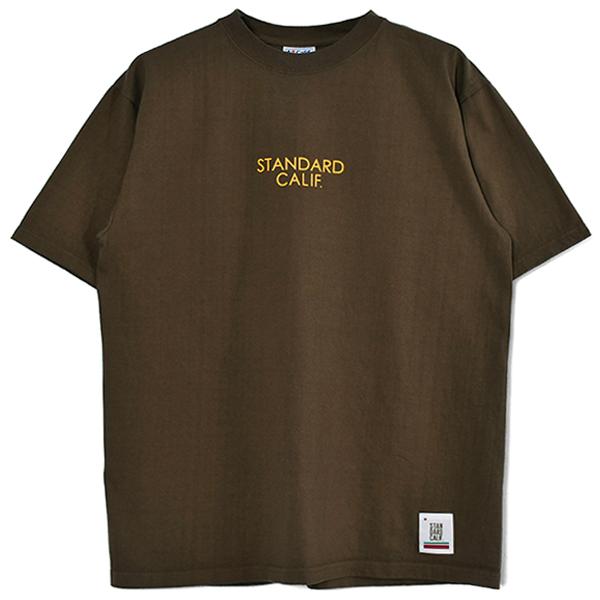 SD HEAVYWEIGHT LOGO T/BROWN