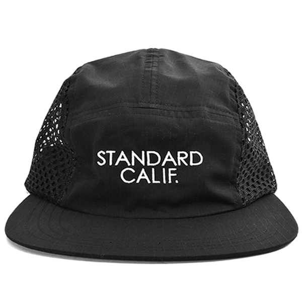 SD Coolmax Stretch Ripstop Camp Cap/BLACK