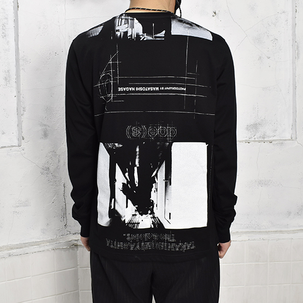 credit roll. (l/s tee)/BLACK(sc.0473SS21)