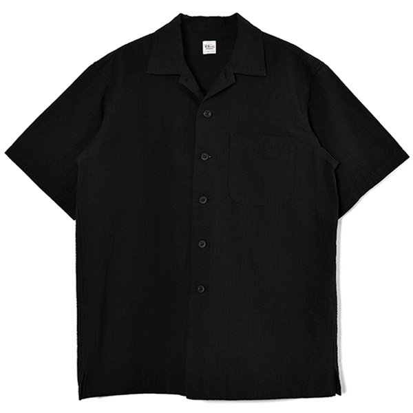 CL Seersucker SS SH/BLACK(3320700034)