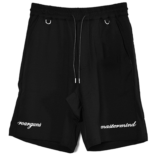 MASTER MIND×ROAR GUNS SHORT JERSEY PANTS/BLACK(MJ21-PA501)