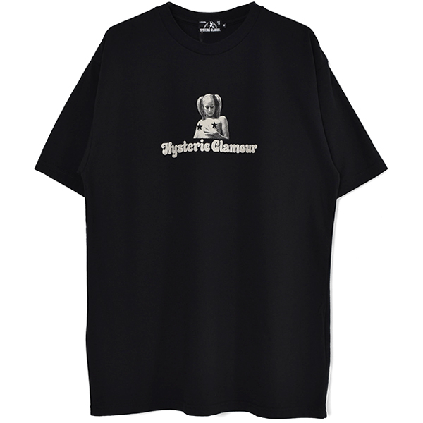 DIRTY HYS Tシャツ/BLACK(02211CT02)