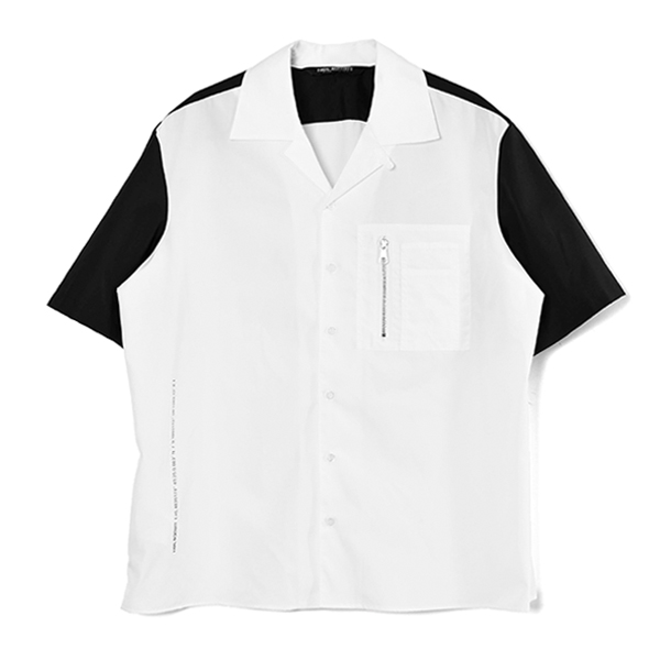 S/S SHIRT/WHITE/BLACK(PBCM1469V-Q012S)