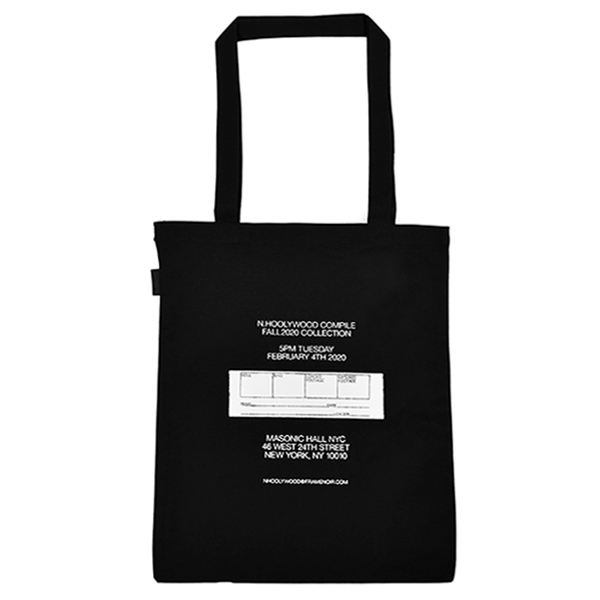 TOTE BAG/BLACK
