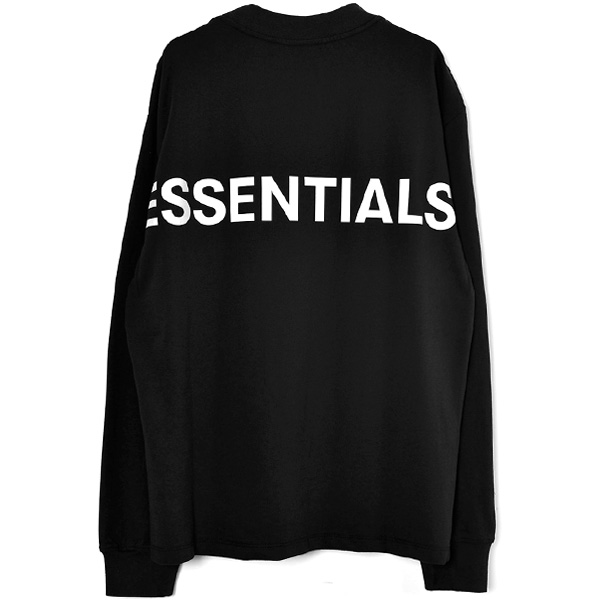 3M LOGO LONG SLEEVE T-SHIRT/BLACK