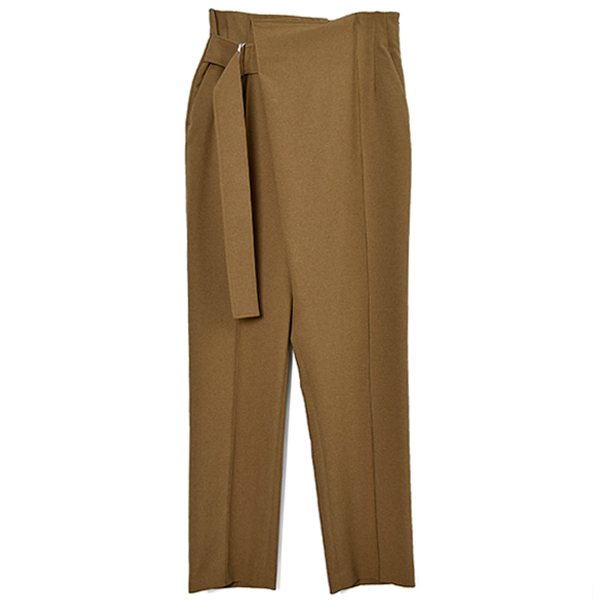 ASYMMETRY TROUSER/YELLOW