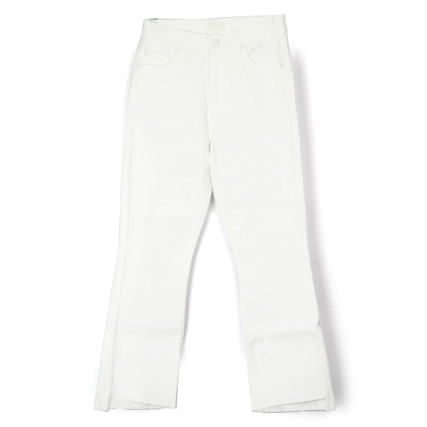 INSIDER CROP STEP FRAY/WHITE