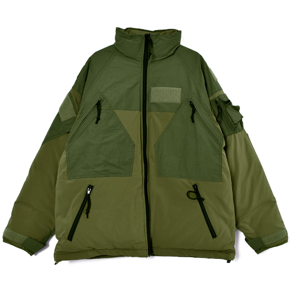 DOWN COAT/KHAKI