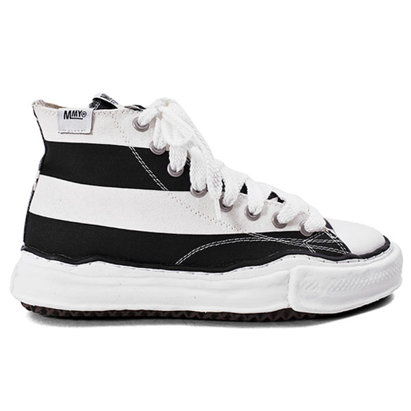Original sole Stars and Stripes Hi top sneaker/BLACK×WHITE